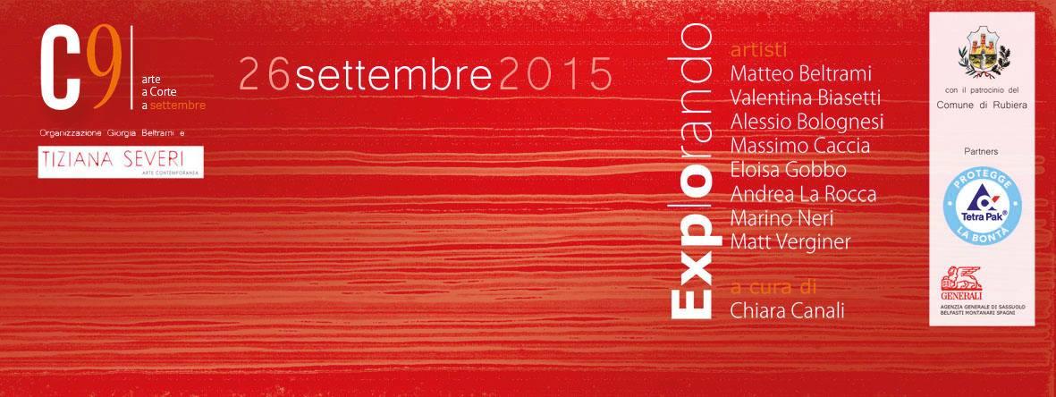 C9 explorando. Corte dell'Ospitale, Reggio Emilia. 2015